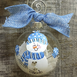 Christmas Ornaments - Hand Painted