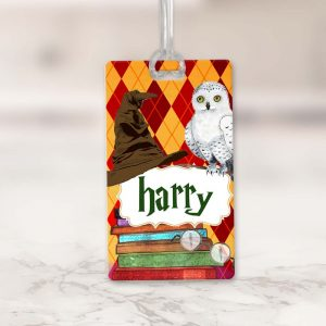 Wizard luggage Tag