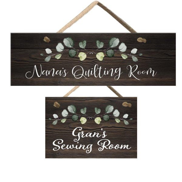 Craft room signs