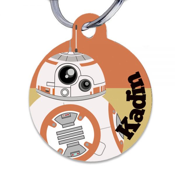 BB8 lunch bag tag