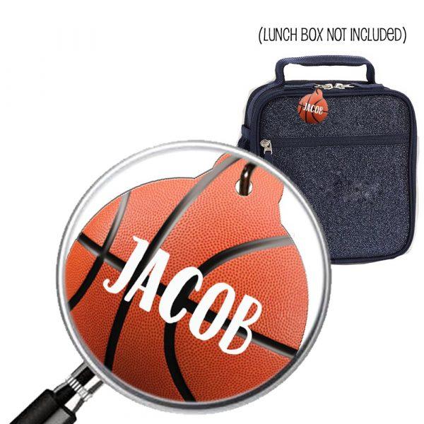 Basketball Name tag