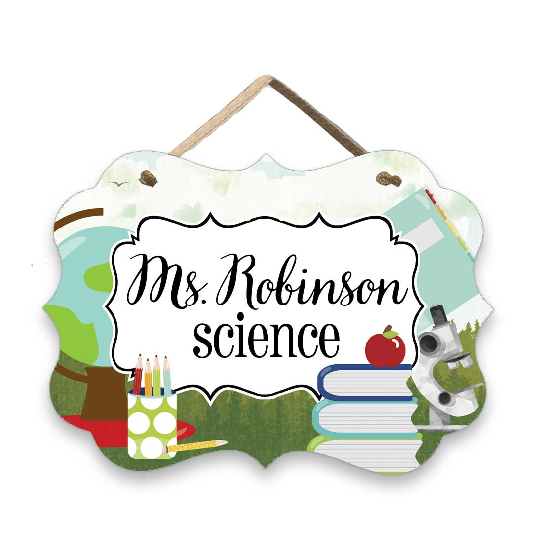 Classroom-Science-Sign