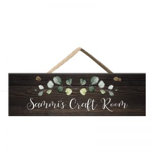 Craft Room Door Sign