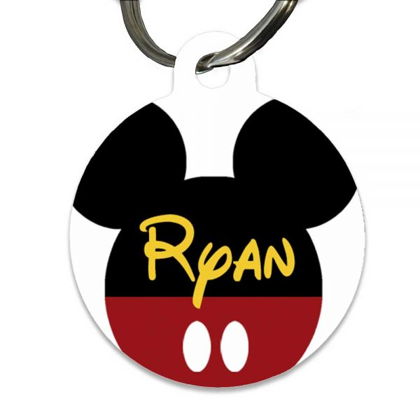 Mickey Mouse Name tag