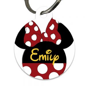 Minnie Mouse Name tag