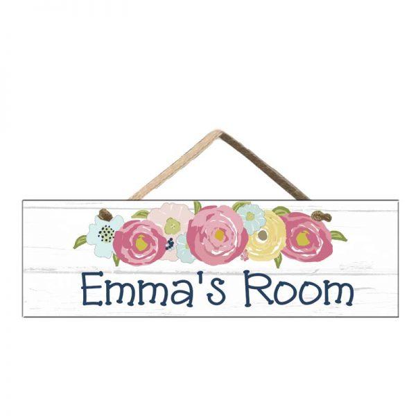 Girls Door Sign
