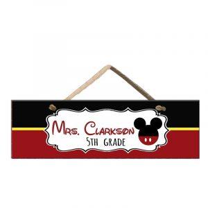 Disney Classroom Door Sign