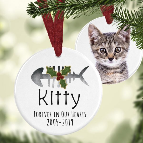 cat memorial ornament