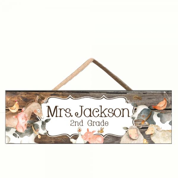 Barn Yard animals classroom decor