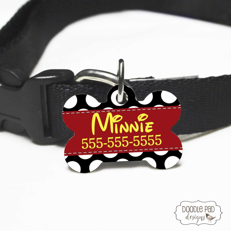 MinnieMouseDogTag