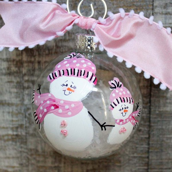 Mother Daughter ornament