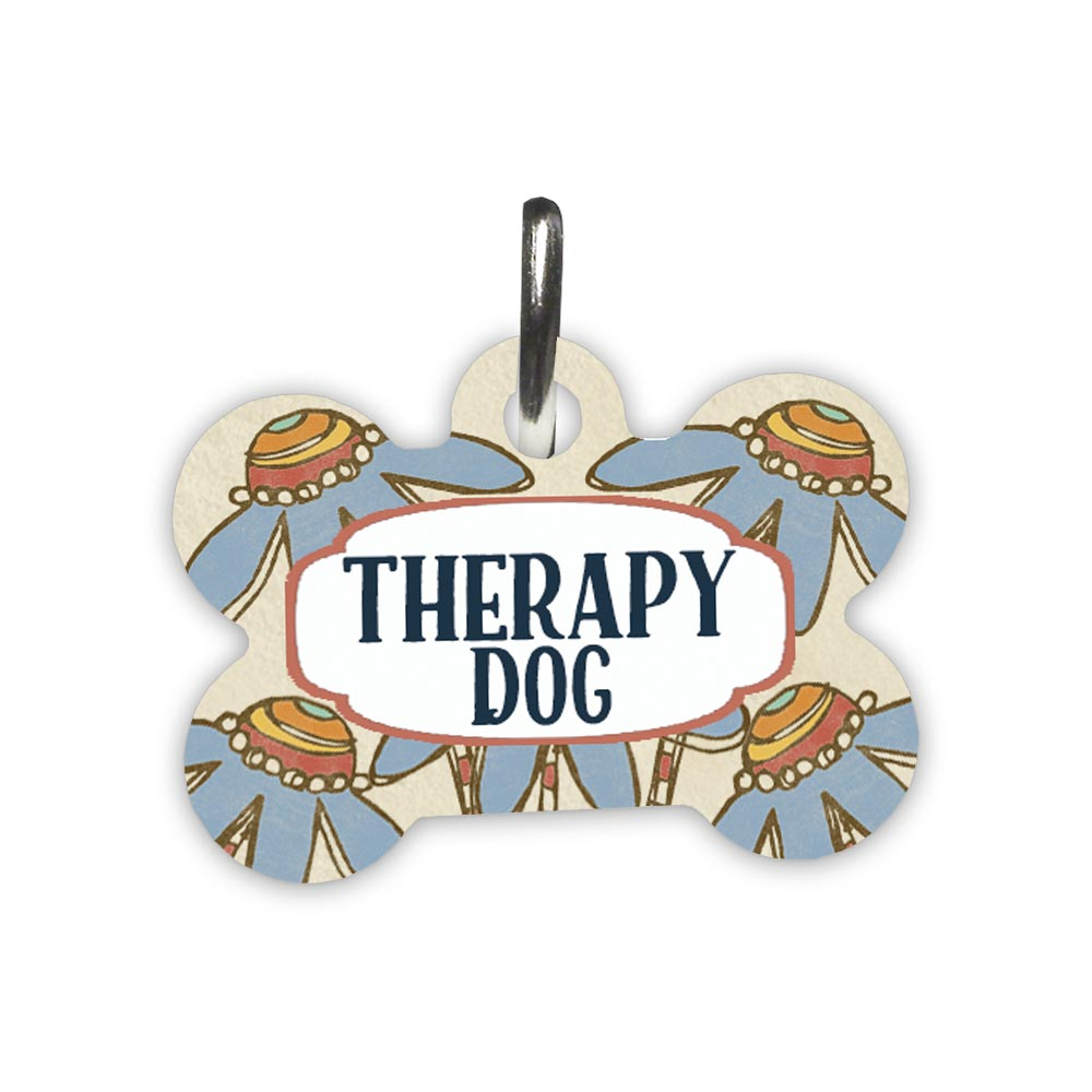 Therapy-dog-pet-id-tag
