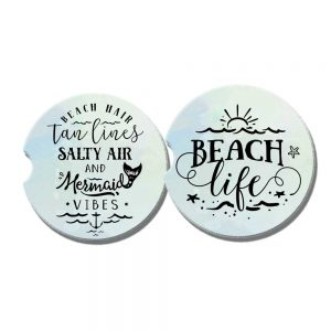 beach car coasters
