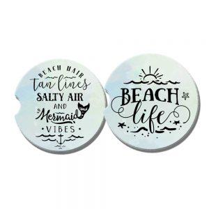 beach car coasters