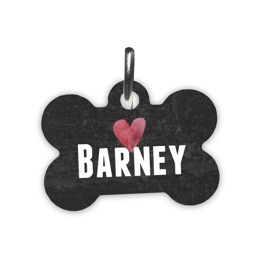 Chalkboard-heart-pet-id-tag