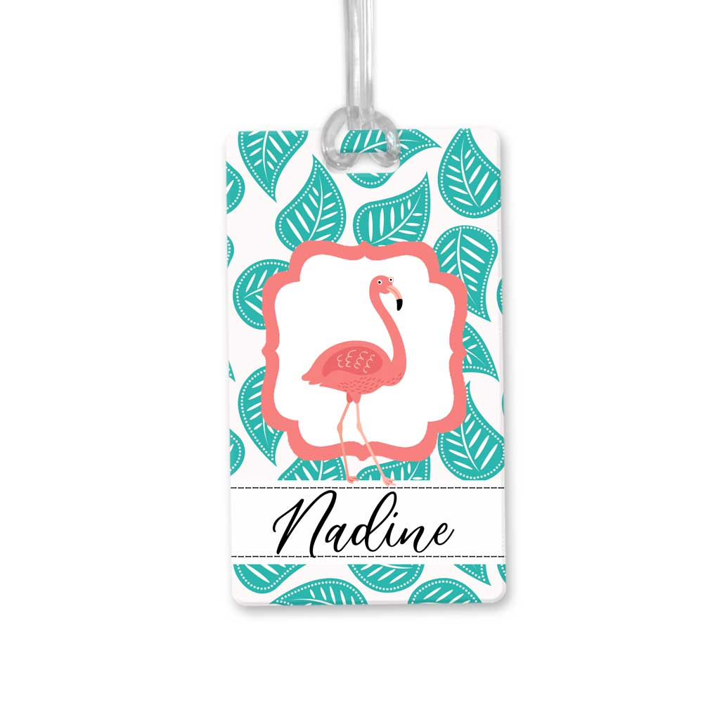 Flamingo-Bag-Tag
