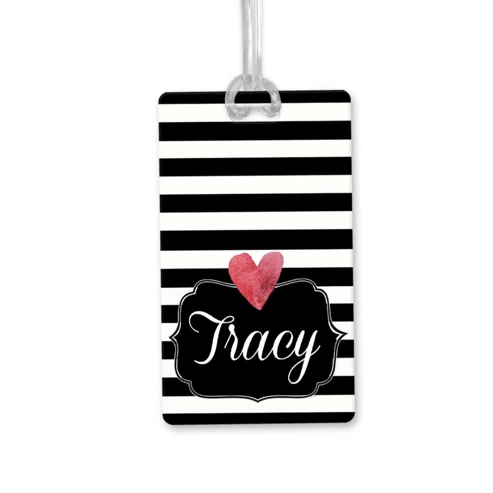 Striped-Heart-bag-tag