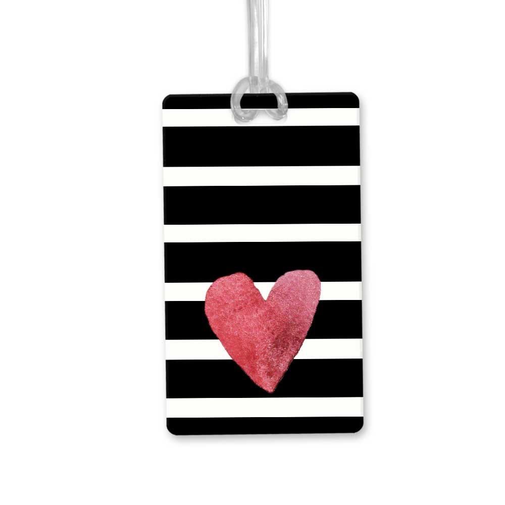 Striped-Heart-bag-tag