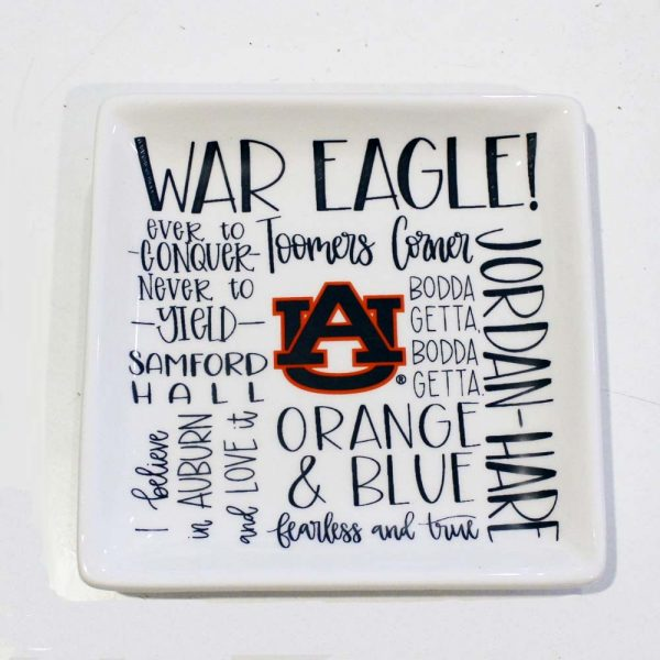 war eagles tray