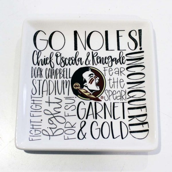 FSU jewelry tray