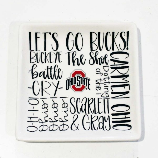Ohio state jewelry tray