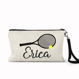 tennis cosmetic bag