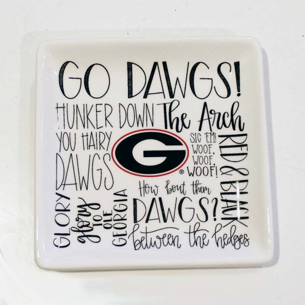 UGA jewelry tray