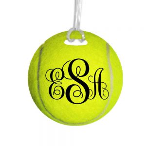 personalized tennis bag tag