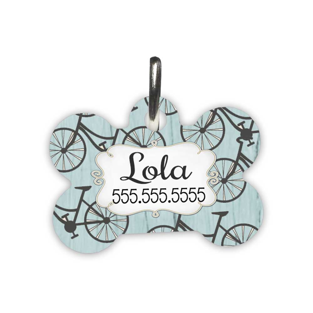 Bicycle-Pet-Id-tag