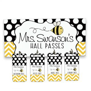 busy bee hall passes