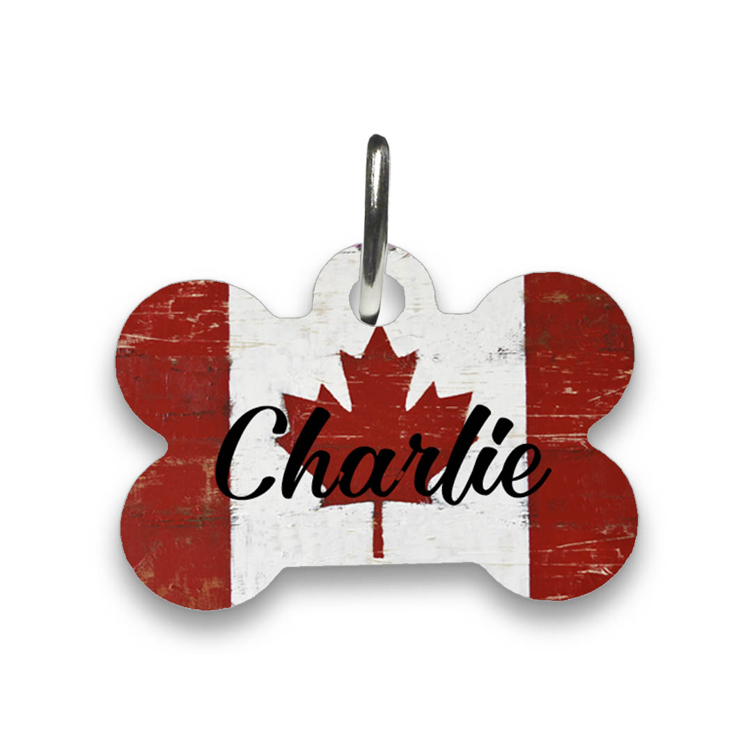 Canada-Flag-dog-Id-tag