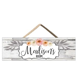 farmhouse nursery sign