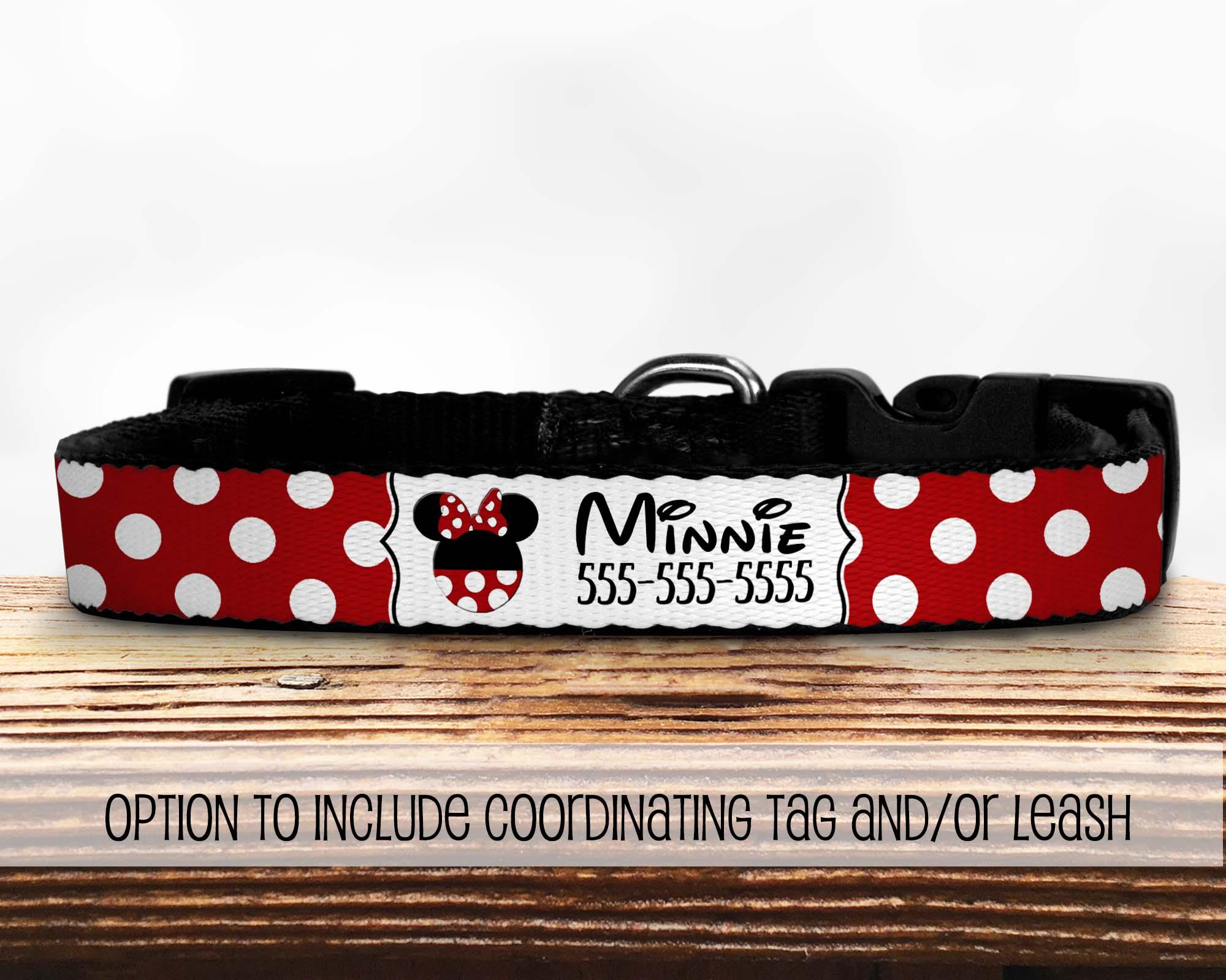 Minnie-Dog-Collar