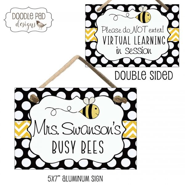 bumble bee classroom sign
