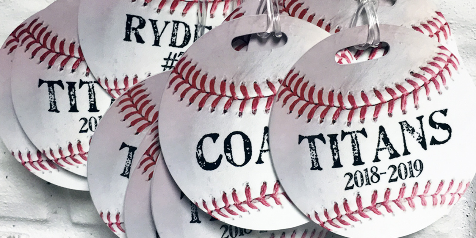 baseball bag tags