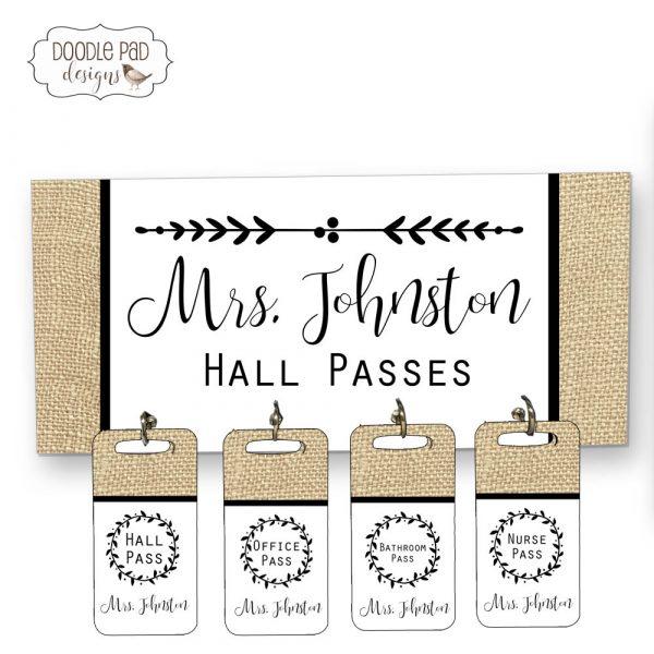Farmhouse hall passes