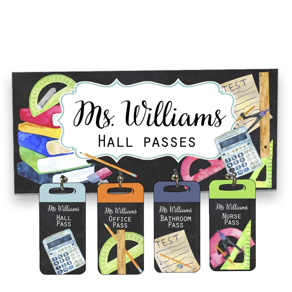 Math-Hall-Passes