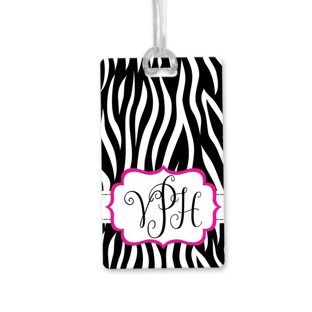 Zebra_Print_Luggage